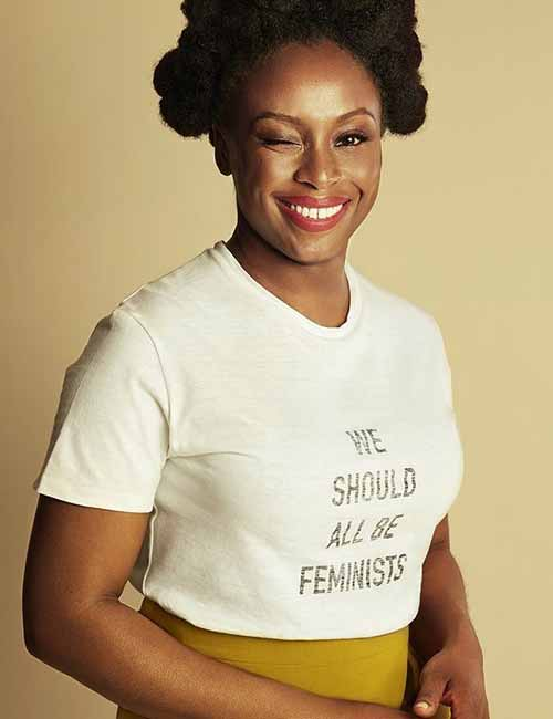Black Celebrities with Stunning Looks - 17. Chimamanda Ngozi