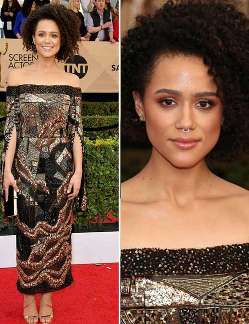 Black Celebrities with Stunning Looks - 2. Nathalie Emmanuel