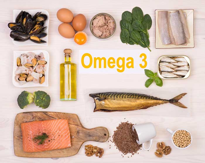 2. Omega-3 Fatty Acids