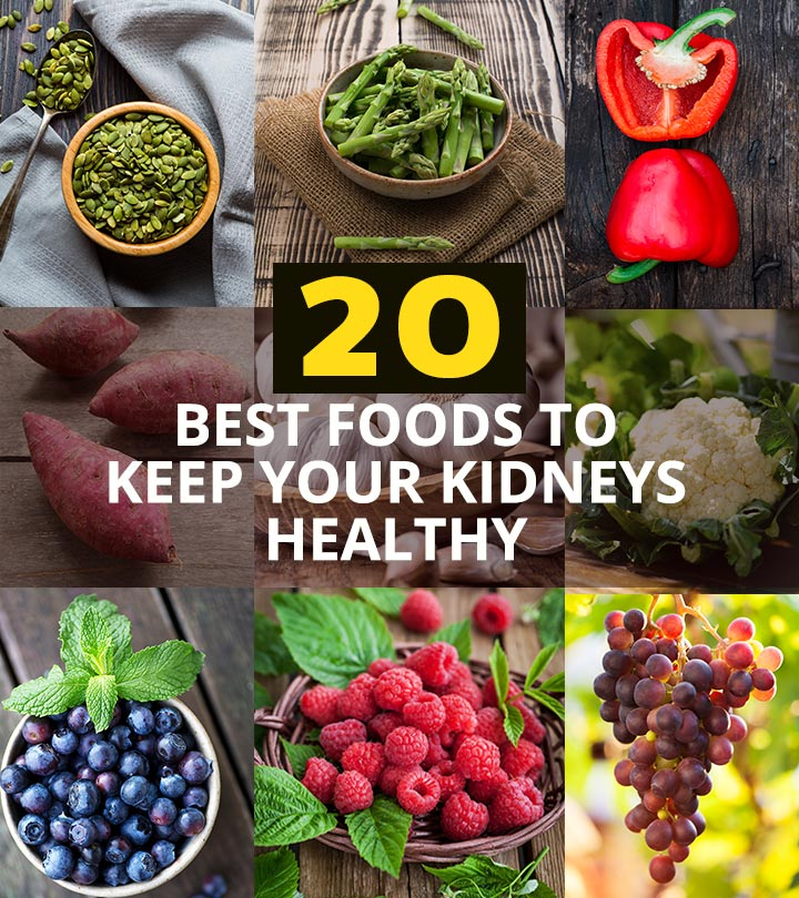 20 Best Foods To Keep Your Kidneys Healthy