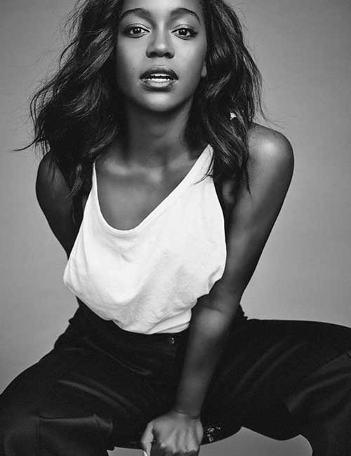 Most Beautiful Black Female Celebrities - 21. Aja Naomi King