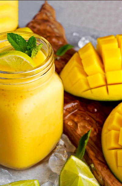 Weight Loss Smoothies - Mango, Yogurt, And Nutmeg Smoothie