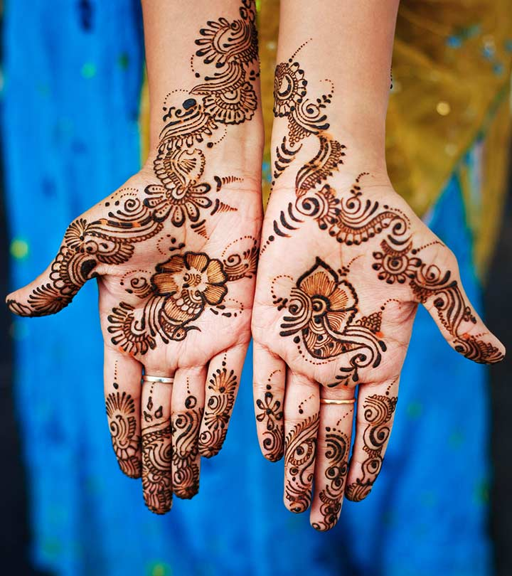 10 Beautiful Punjabi Mehndi Designs To Try In 2019