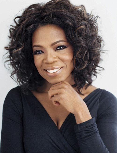 Black Women with Beautiful Looks - 28. Oprah Winfrey