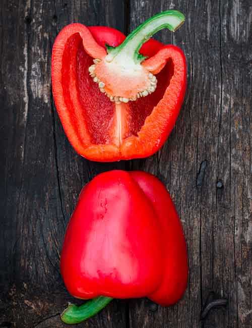 Foods For A Healthy Kidney - Red Bell Pepper