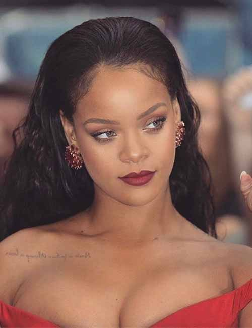 Black Women with Beautiful Looks - 3. Rihanna