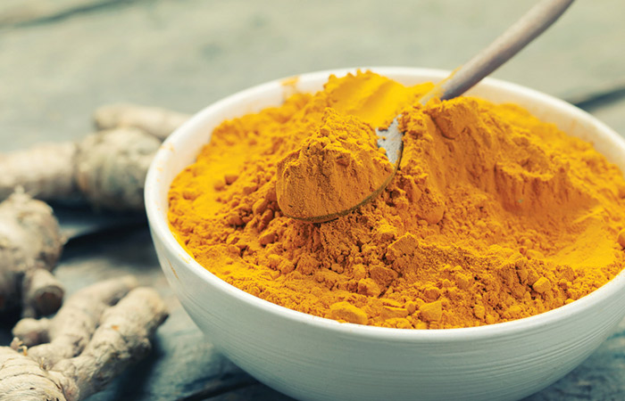 Fat Burning Foods Before Bed - Turmeric