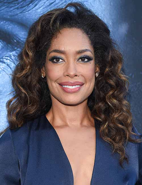 beautiful black female celebrities - 34. Gina Torres