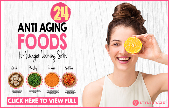 35 Best Anti-Aging Foods For Younger-looking Skin