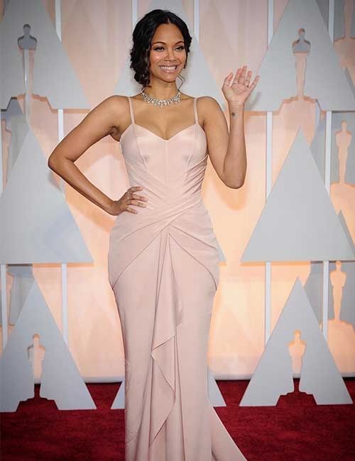 Beautiful Black Women - 4. Zoe Saldana