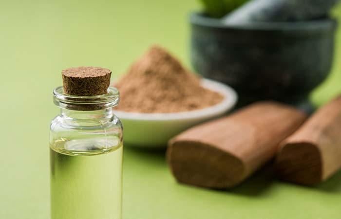 5. Sandalwood Oil