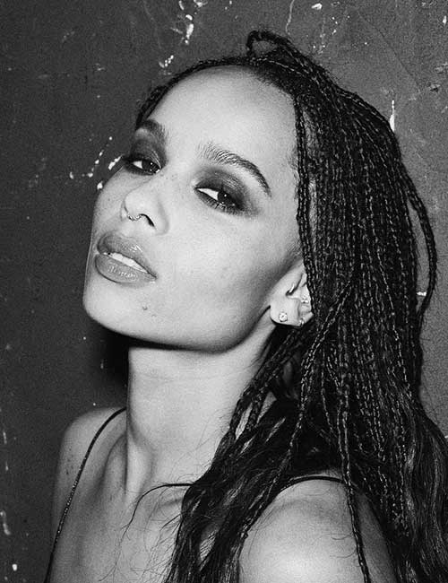 Beautiful Black Female Celebrities - 5. Zoe Kravitz