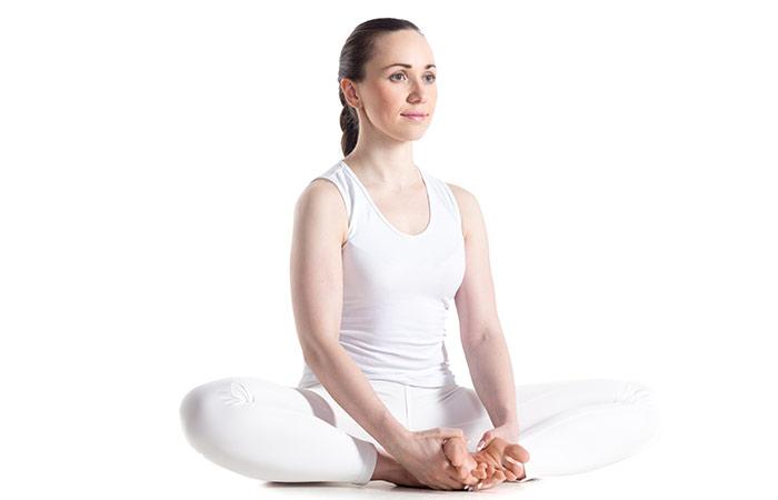 Baddha Konasana - yoga pose that will help fight insomnia