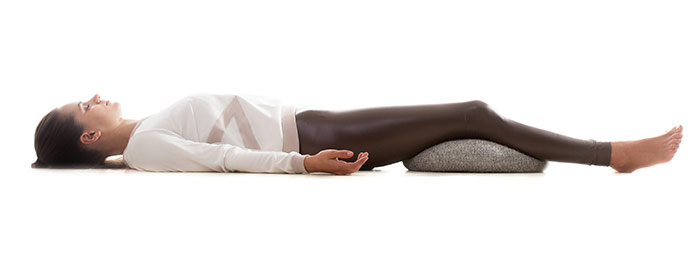 Shavasana - yoga pose that will help fight insomnia