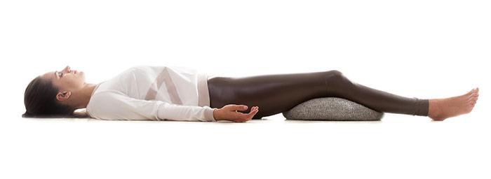 Shavasana - yoga pose that will help fight insomnia