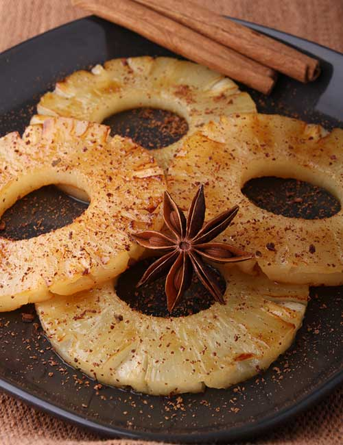 7. Spiced Pineapple