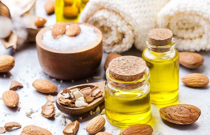 8. Almond Oil