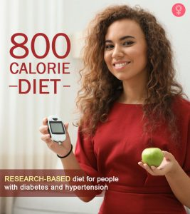800-Calorie Diet: VLCD For Weight Loss, Diabetes, And High BP