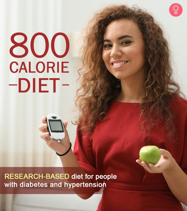 800-Calorie Diet – The Best VLCD For Diabetes And High Blood Pressure