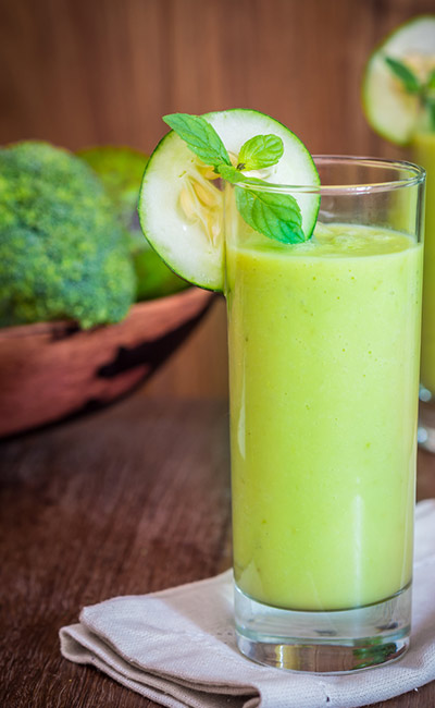 Weight Loss Smoothie - Cucumber, Plum, And Cumin Smoothie