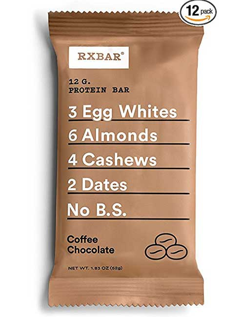 9. RX Bar Coffee Chocolate