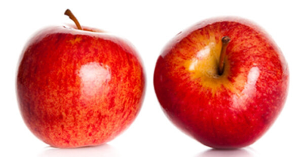 apple and skim milk