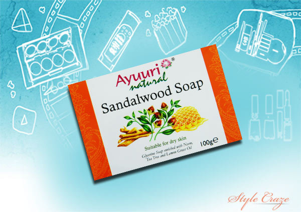 ayuri sandalwood soap