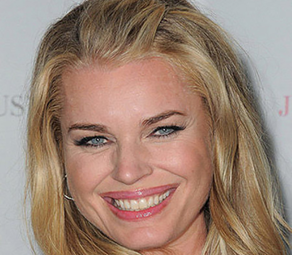 Celebrity Makeup Mistakes - Rebecca Romijn with Failed Lip Liner