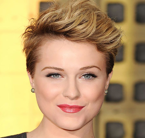Celebrity Makeup Mistakes - 9. Evan Rachel Woods with Flaky Lipstick