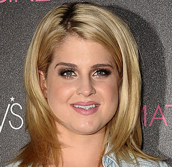Celebrity Makeup Mistakes - 10. Kelly Osbourne with Prominent Concealer