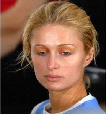 Pictures Of Paris Hilton Without Makeup