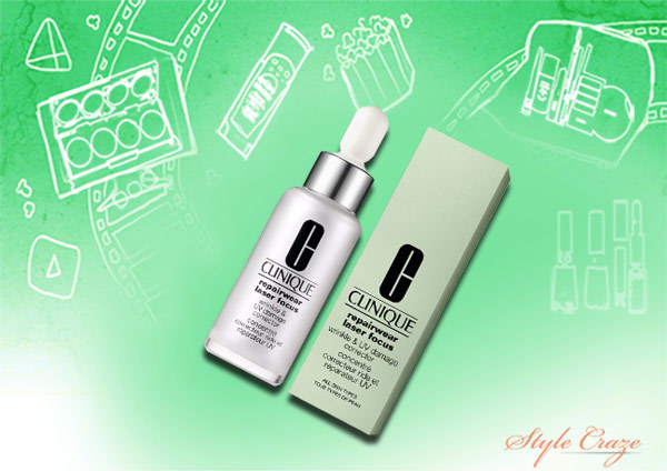 clinique repairwear laser focus wrinkle and uv corrector