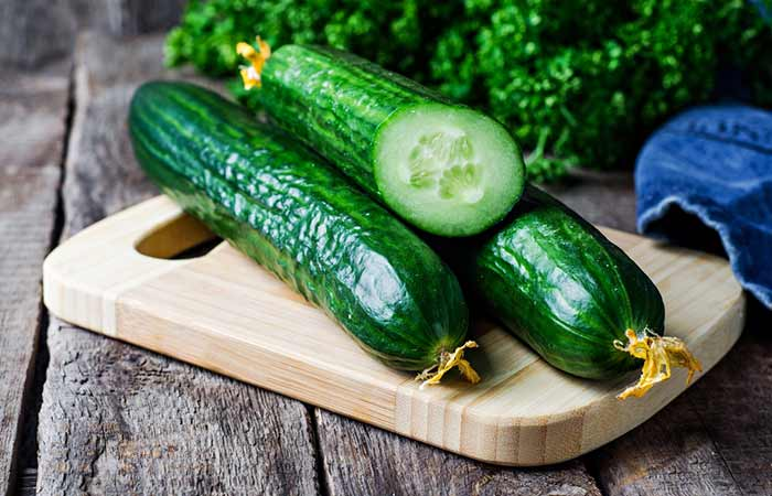 Best Anti-aging Foods - Cucumber