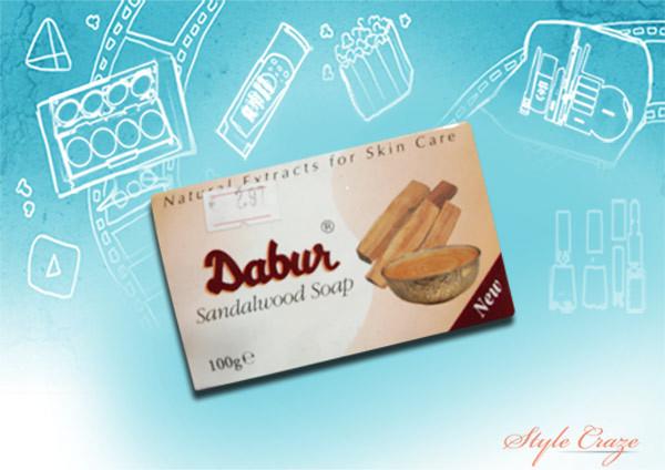 dabur natural sandalwood soap