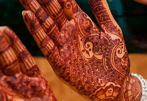 Mehndi Quotes For Him : Front hand arabic mehndi designs for stylish girls women simple