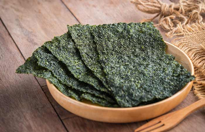 Benefits Of Iodine For Hair - Dried seaweed