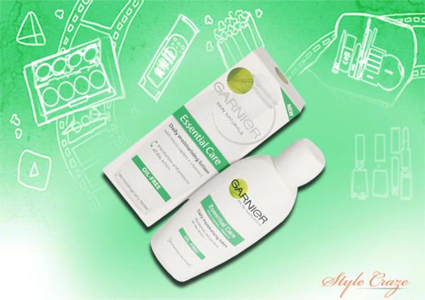 garnier essential care daily moisturizing lotion