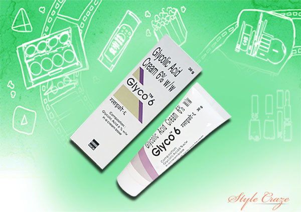 glyco 6 glycolic acid cream for acne