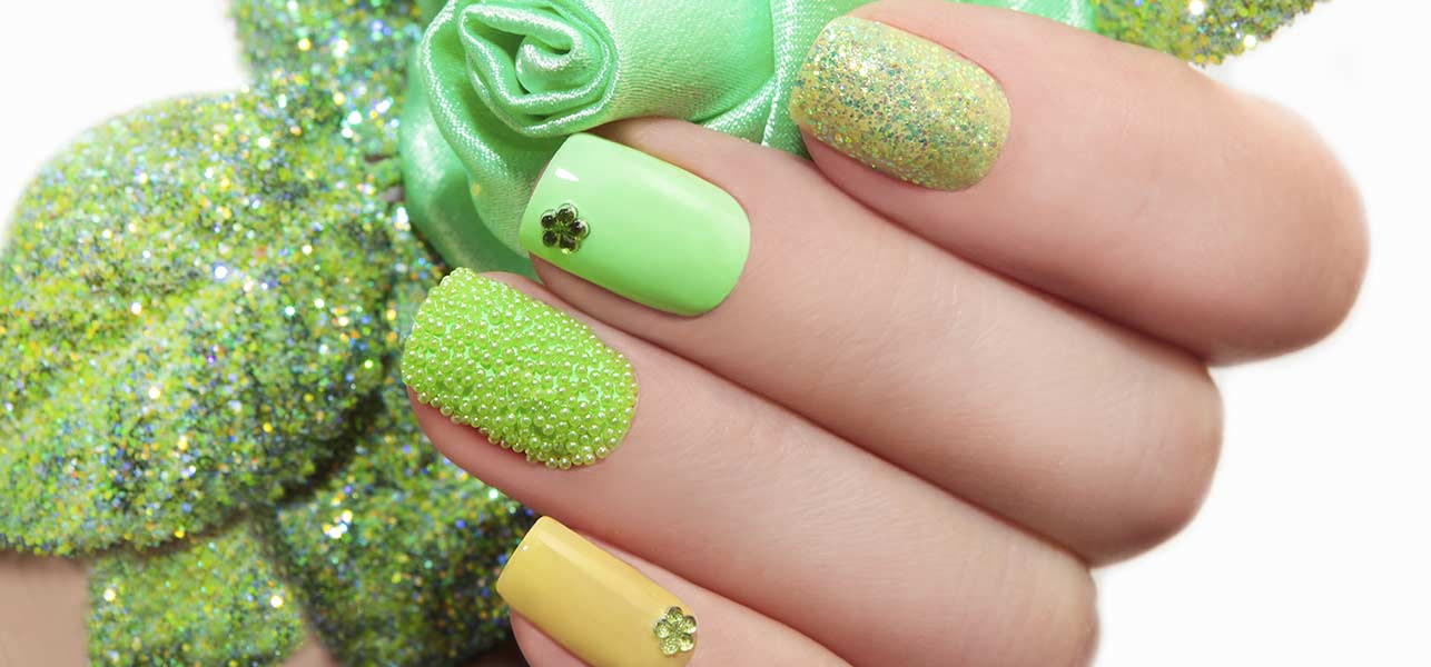 Fun Green Nail Art Designs You Can Try Right Now | Make Up Tips