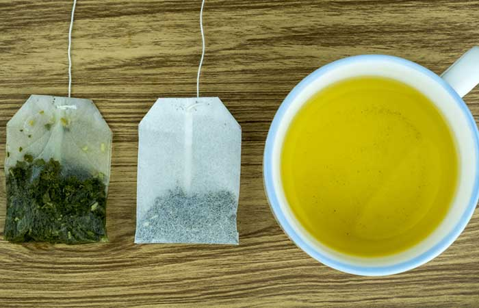 Green Tea With Lipton Green Tea Bag