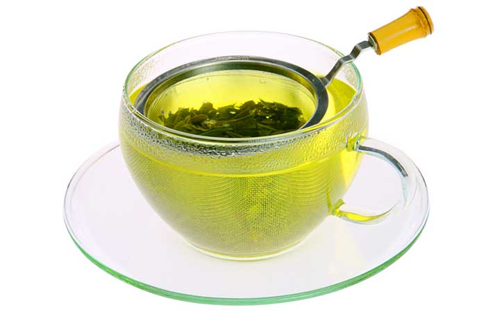 Green Tea With Lipton Loose Tea Leaves