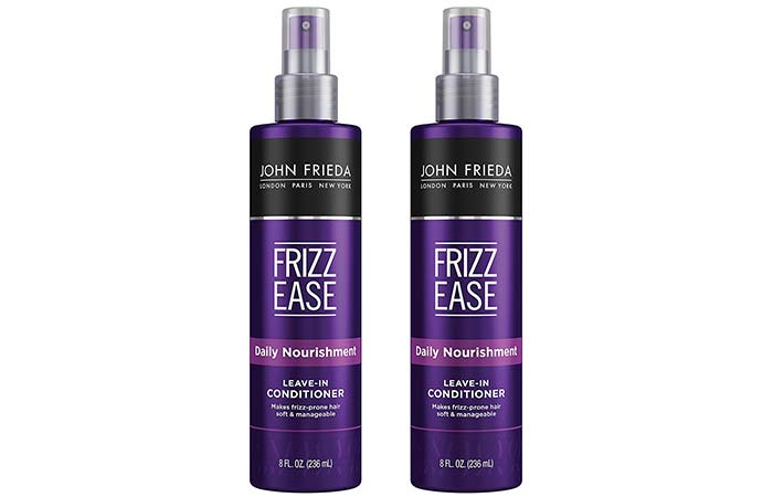 John Frieda Frizz-ease Daily Nourishment Leave-in Conditioning Spray - Best Leave-In Conditioners