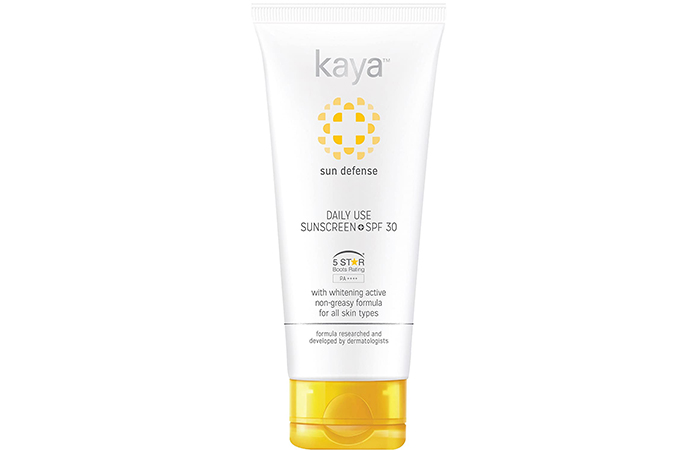 Kaya Sun Defense Daily Use Sunscreen SPF 30
