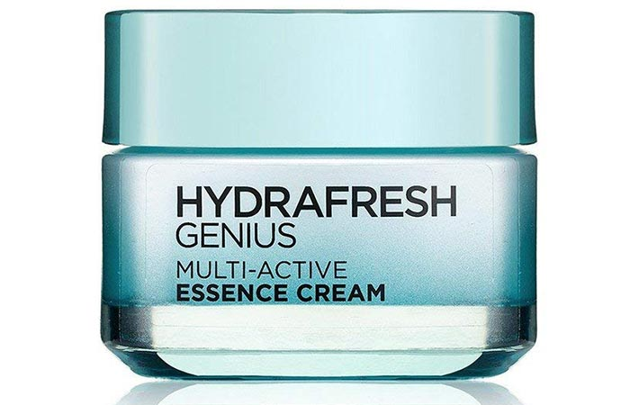 L'Oreal Paris Hydrafresh Genius Multi-Active Essence Cream - Water-Based Moisturizers For Oily Skin