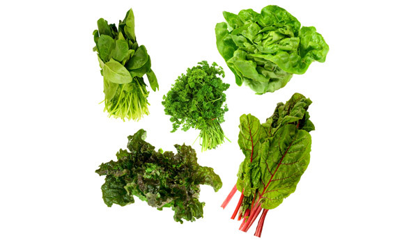 Foods for Healthy Bones - Leafy Greens