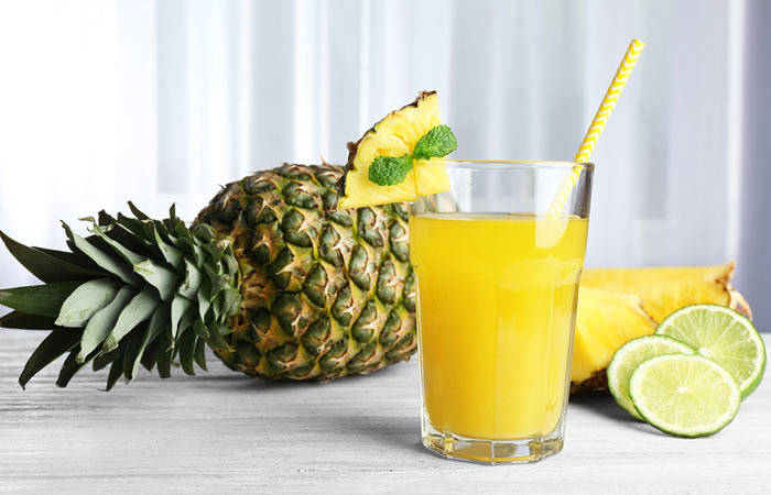 Weight Loss Drinks - Metabolism Boosting Pineapple Drink