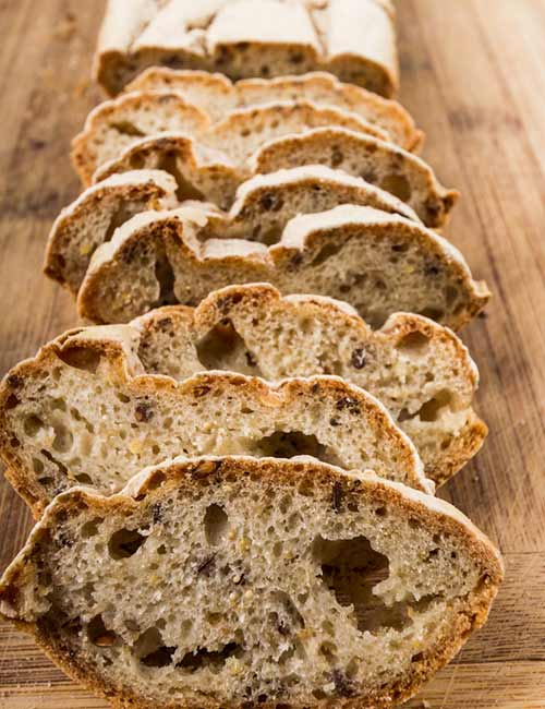 Mixed Seed Gluten Free Bread Loaf