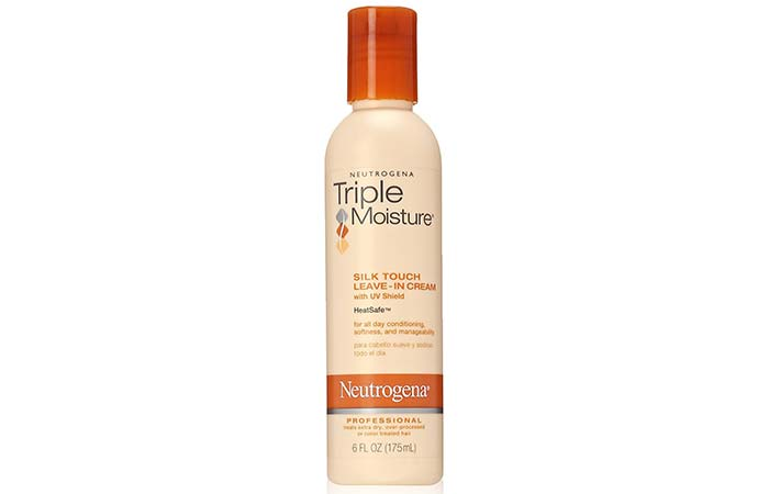 Neutrogena Triple Moisture Silk Touch Leave-in Creme