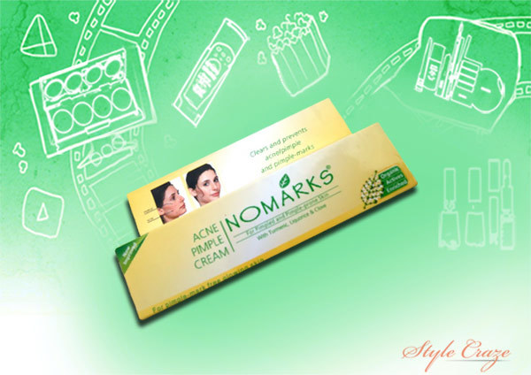 nomarks cream for acne and pimples