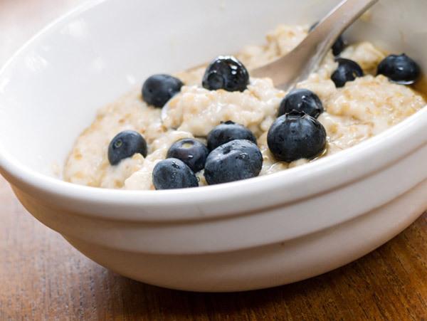 Low Calorie Breakfast - oatmeal